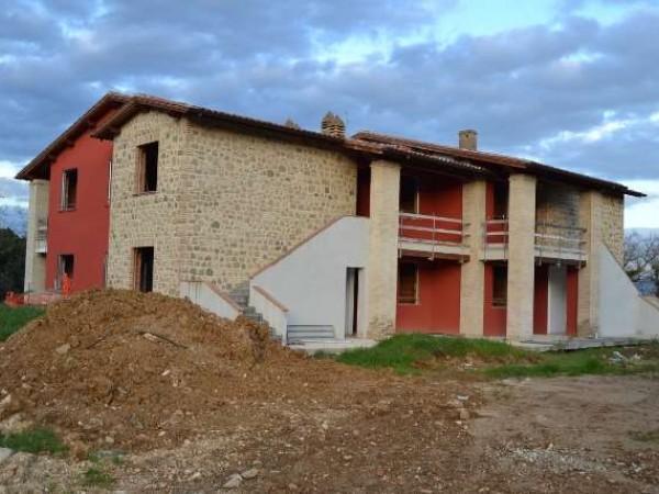 Appartamento in vendita a Bettona, Colle, Con giardino, 110 mq