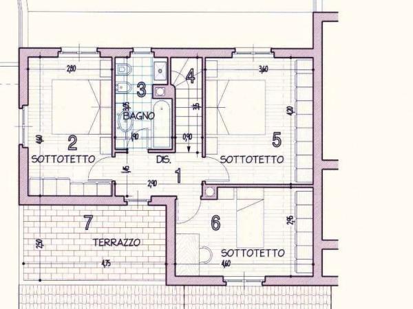 Villa in vendita a Perugia, Cenerente, Con giardino, 250 mq - Foto 2