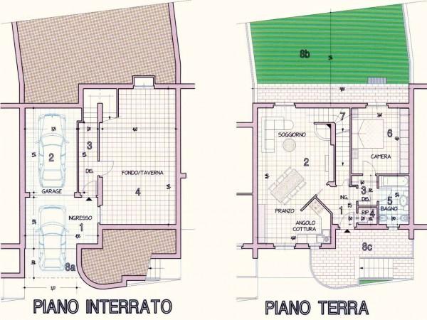Villa in vendita a Perugia, Cenerente, Con giardino, 250 mq - Foto 3