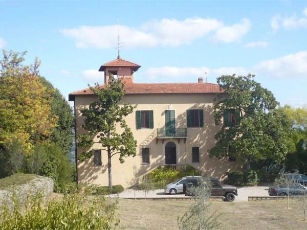 Villa in vendita a Perugia, Centro Storico, Con giardino, 500 mq
