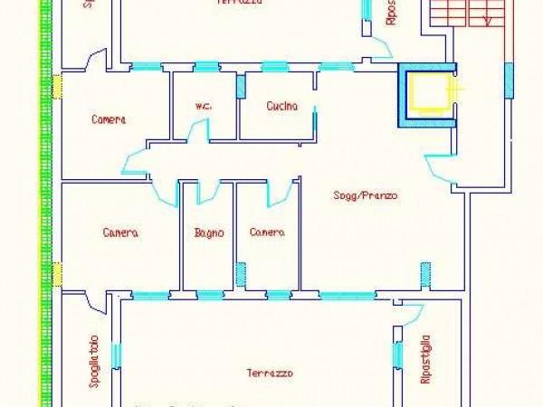Appartamento in vendita a Deruta, Pontenuovo, 140 mq - Foto 2
