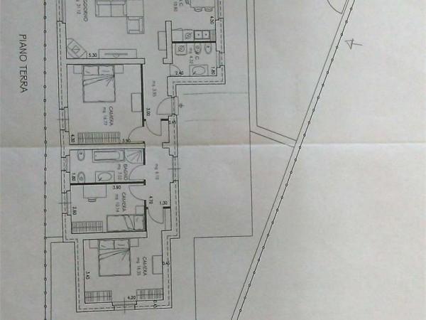 Casa indipendente in affitto a Perugia, Ponte Pattoli, Con giardino, 110 mq - Foto 8