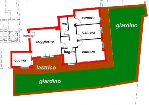 Quadrilocale in vendita a Corciano, San Mariano, Con giardino, 105 mq - Foto 21