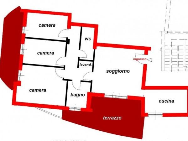 Quadrilocale in vendita a Corciano, San Mariano, Con giardino, 110 mq - Foto 33