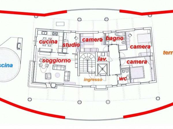 Appartamento in vendita a Corciano, San Mariano, Con giardino, 150 mq - Foto 26
