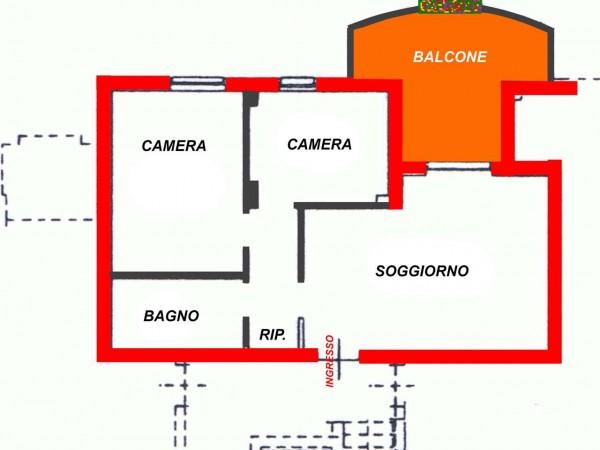 Appartamento in vendita a Marsciano, 68 mq - Foto 13