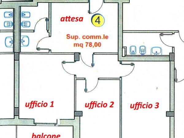 Ufficio in affitto a Perugia, San Sisto, 75 mq - Foto 17