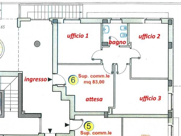 Ufficio in affitto a Perugia, San Sisto, 75 mq - Foto 16