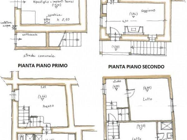 Appartamento in vendita a Todi, Todi - Frazione, 100 mq - Foto 2