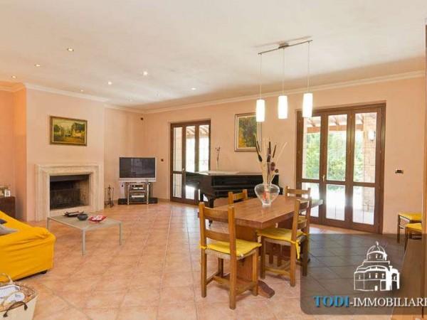 Villa in vendita a Todi, Todi - Frazione, Con giardino, 450 mq - Foto 6