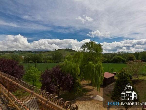 Villa in vendita a Todi, Todi - Frazione, Con giardino, 450 mq - Foto 3