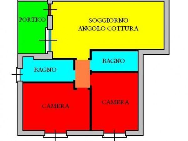 Appartamento in vendita a Todi, Con giardino, 60 mq - Foto 3