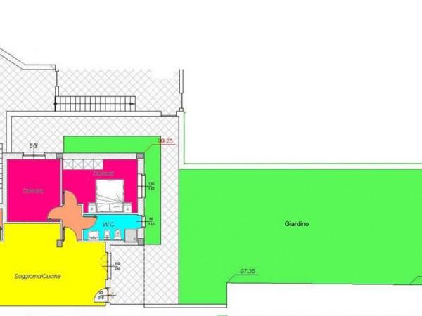 Appartamento in vendita a Todi, Con giardino, 60 mq - Foto 5