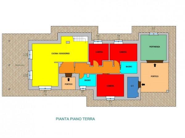 Rustico/Casale in vendita a Todi, Con giardino, 150 mq - Foto 3