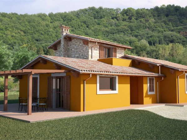 Rustico/Casale in vendita a Todi, Con giardino, 150 mq - Foto 1