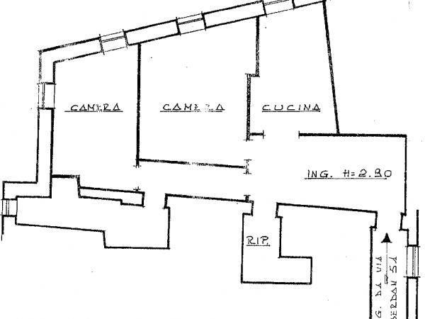 Trilocale in vendita a Perugia, Centro Storico, 78 mq