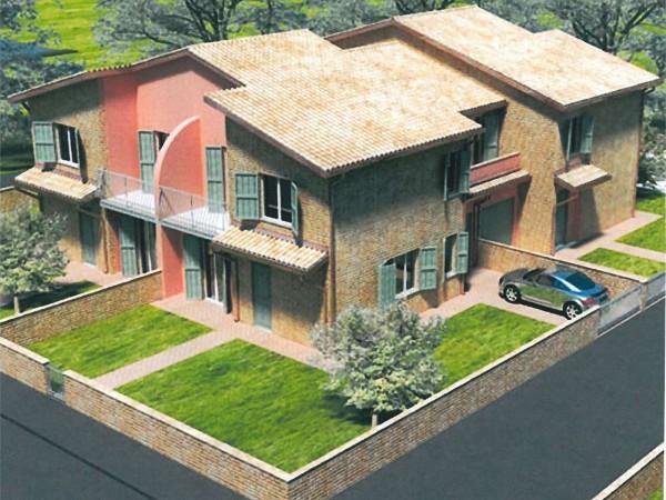 Villa in vendita a Perugia, San Martino In Campo, Con giardino, 150 mq