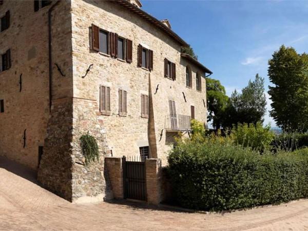 Appartamento in vendita a Corciano, Solomeo, Arredato, con giardino, 190 mq - Foto 1