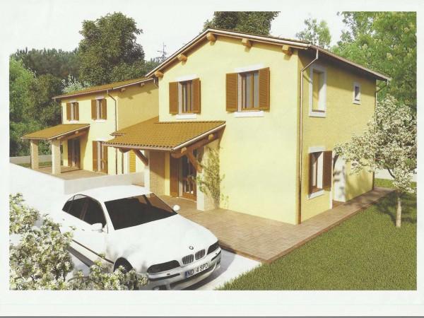 Villa in vendita a Bevagna, Con giardino, 150 mq