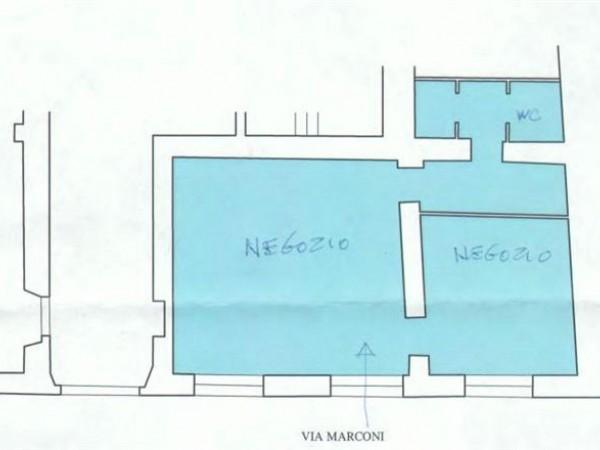 Negozio in affitto a Città di Castello, Centro Storico, 64 mq - Foto 2