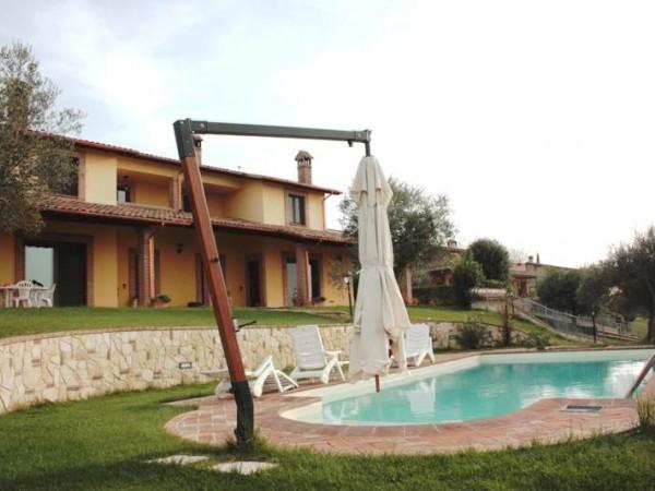 Villa in vendita a Perugia, San Martino In Colle, Con giardino, 320 mq