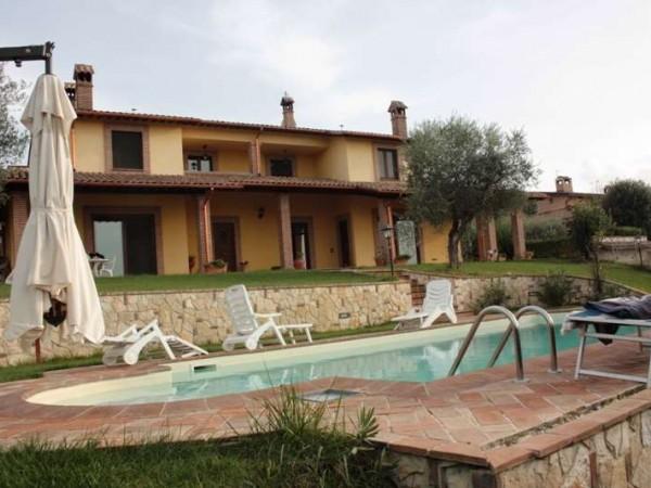 Villa in vendita a Perugia, San Martino In Colle, Con giardino, 320 mq - Foto 41