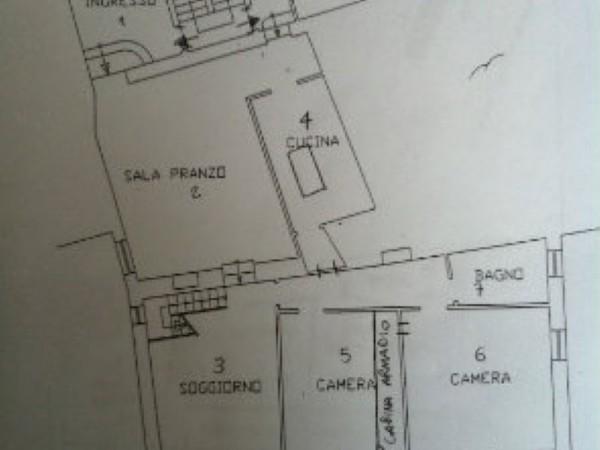 Appartamento in affitto a Perugia, Piazza Italia, 250 mq - Foto 7