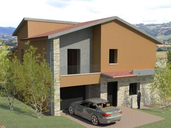 Villa in vendita a Gualdo Tadino, Con giardino, 175 mq - Foto 3