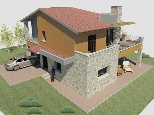 Villa in vendita a Gualdo Tadino, Con giardino, 175 mq - Foto 2