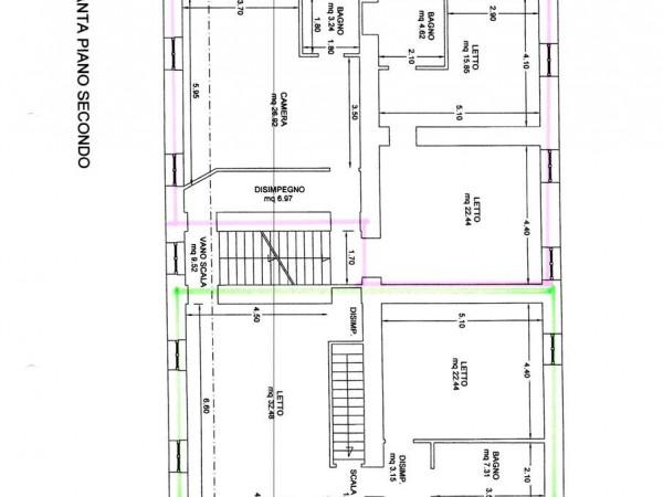 Appartamento in vendita a Nocera Umbra, Con giardino, 252 mq - Foto 3
