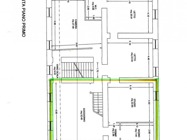 Appartamento in vendita a Nocera Umbra, Con giardino, 252 mq - Foto 4