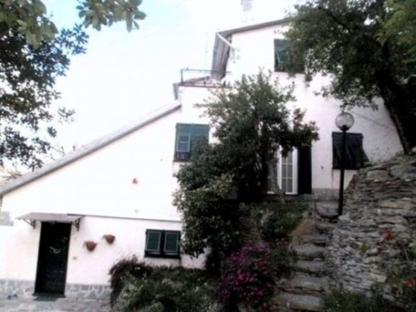 Villa in vendita a Avegno, Salto, Con giardino, 205 mq - Foto 20