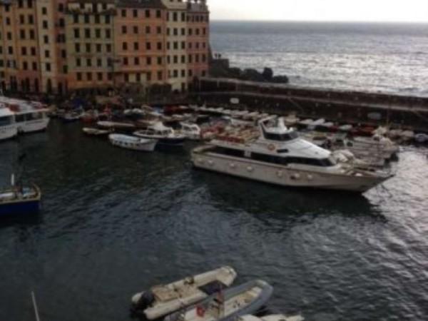 Appartamento in vendita a Camogli, Porto Turistico, 140 mq - Foto 1