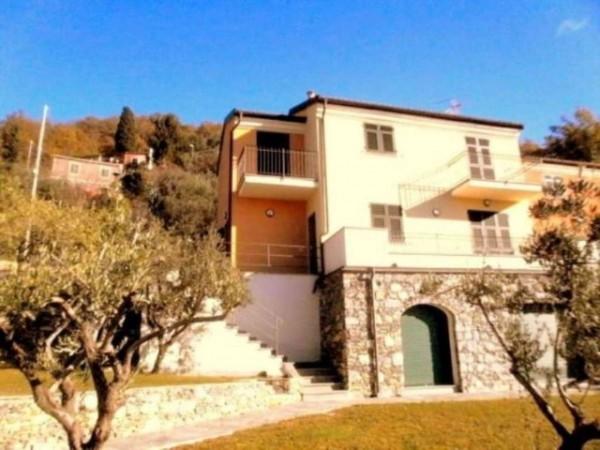 Villa in vendita a Avegno, Testana, Con giardino, 190 mq - Foto 1