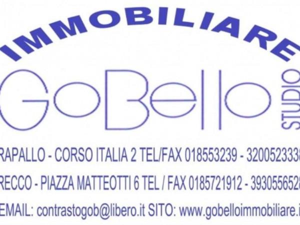 Appartamento in vendita a Camogli, Centralissimo-mare, Con giardino, 140 mq - Foto 9