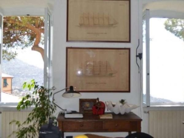 Appartamento in vendita a Camogli, Ruta, Con giardino, 130 mq - Foto 10