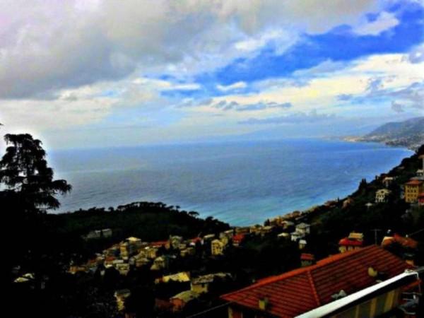 Appartamento in vendita a Camogli, Ruta Di Camogli, Con giardino, 143 mq