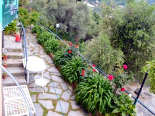 Casa indipendente in affitto a Camogli, Ruta, Arredato, con giardino, 60 mq - Foto 15