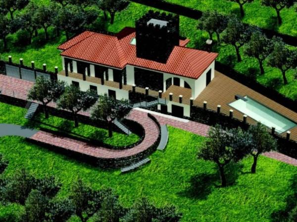Villa in vendita a Chiavari, Ri Alto, Con giardino, 270 mq