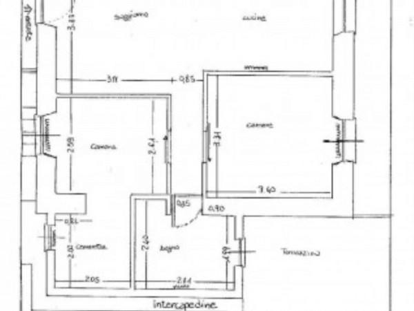 Appartamento in vendita a Santa Margherita Ligure, San Lorenzo Della Costa, Con giardino, 125 mq - Foto 19