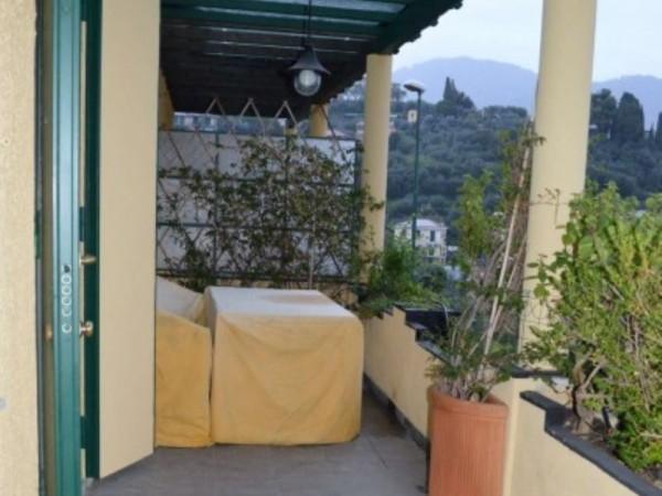 Appartamento in vendita a Recco, Montefiorito, Arredato, con giardino, 90 mq - Foto 13