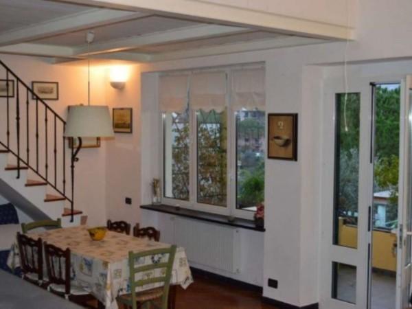Appartamento in vendita a Recco, Montefiorito, Arredato, con giardino, 90 mq - Foto 12