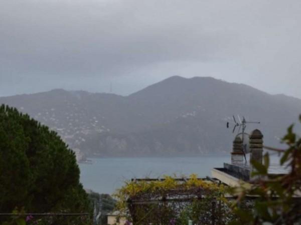 Appartamento in vendita a Recco, Montefiorito, Arredato, con giardino, 90 mq