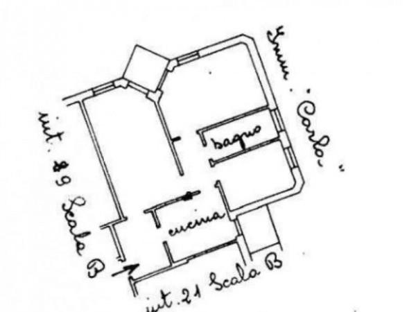 Appartamento in vendita a Rapallo, Centrale, 80 mq - Foto 12