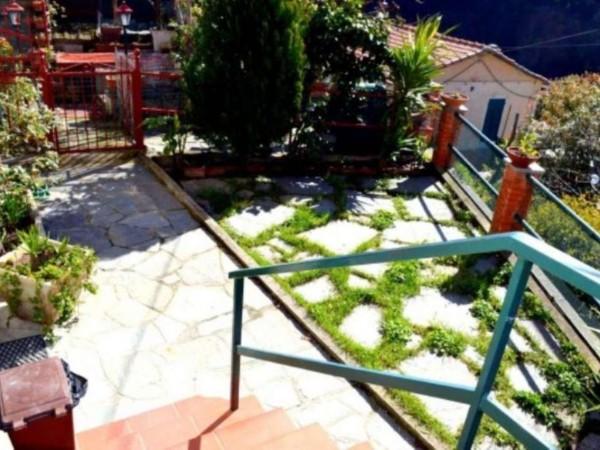 Villetta a schiera in vendita a Avegno, Con giardino, 110 mq - Foto 17