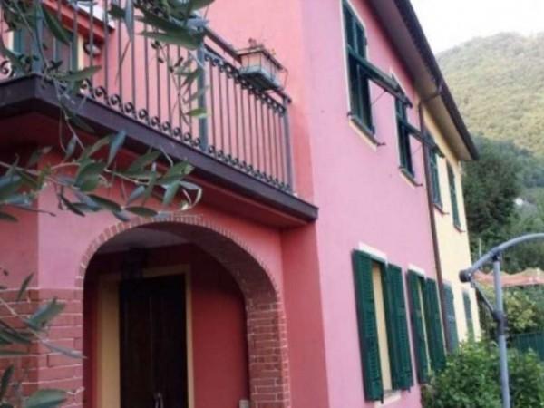 Villa in vendita a Rapallo, Montepegli, Con giardino, 100 mq