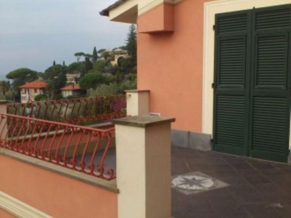 Villa in vendita a Recco, Con giardino, 120 mq - Foto 5