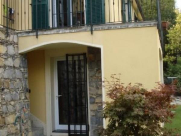 Villa in vendita a Rapallo, San Pietro, Arredato, con giardino, 150 mq
