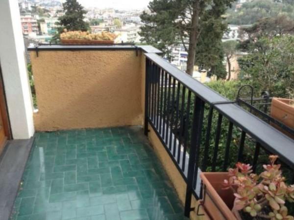 Appartamento in vendita a Rapallo, Golf, Arredato, con giardino, 60 mq - Foto 12