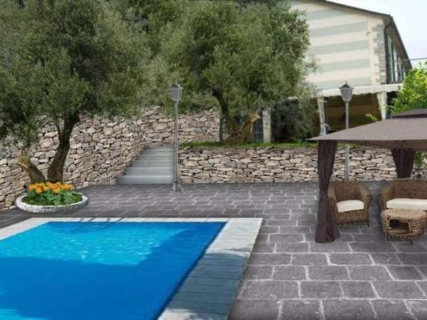Villa in vendita a Rapallo, Sant'agostino, Con giardino, 270 mq - Foto 16